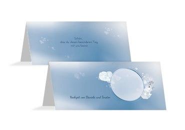 Hochzeit Tischkarte Liebeszauber