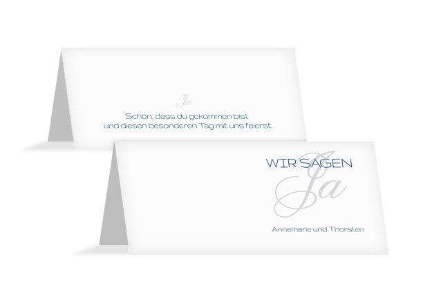 Hochzeit Tischkarte Sagja