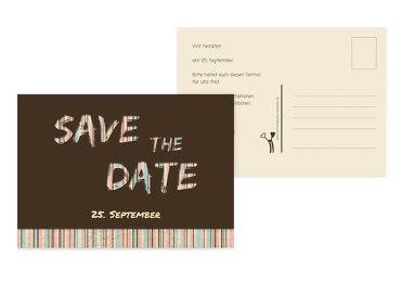Save-the-Date Wir heiraten