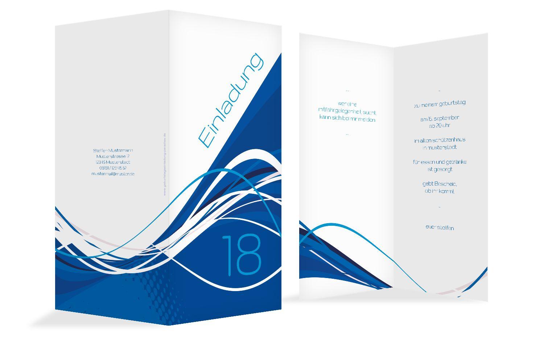 Einladungen Welle 18
