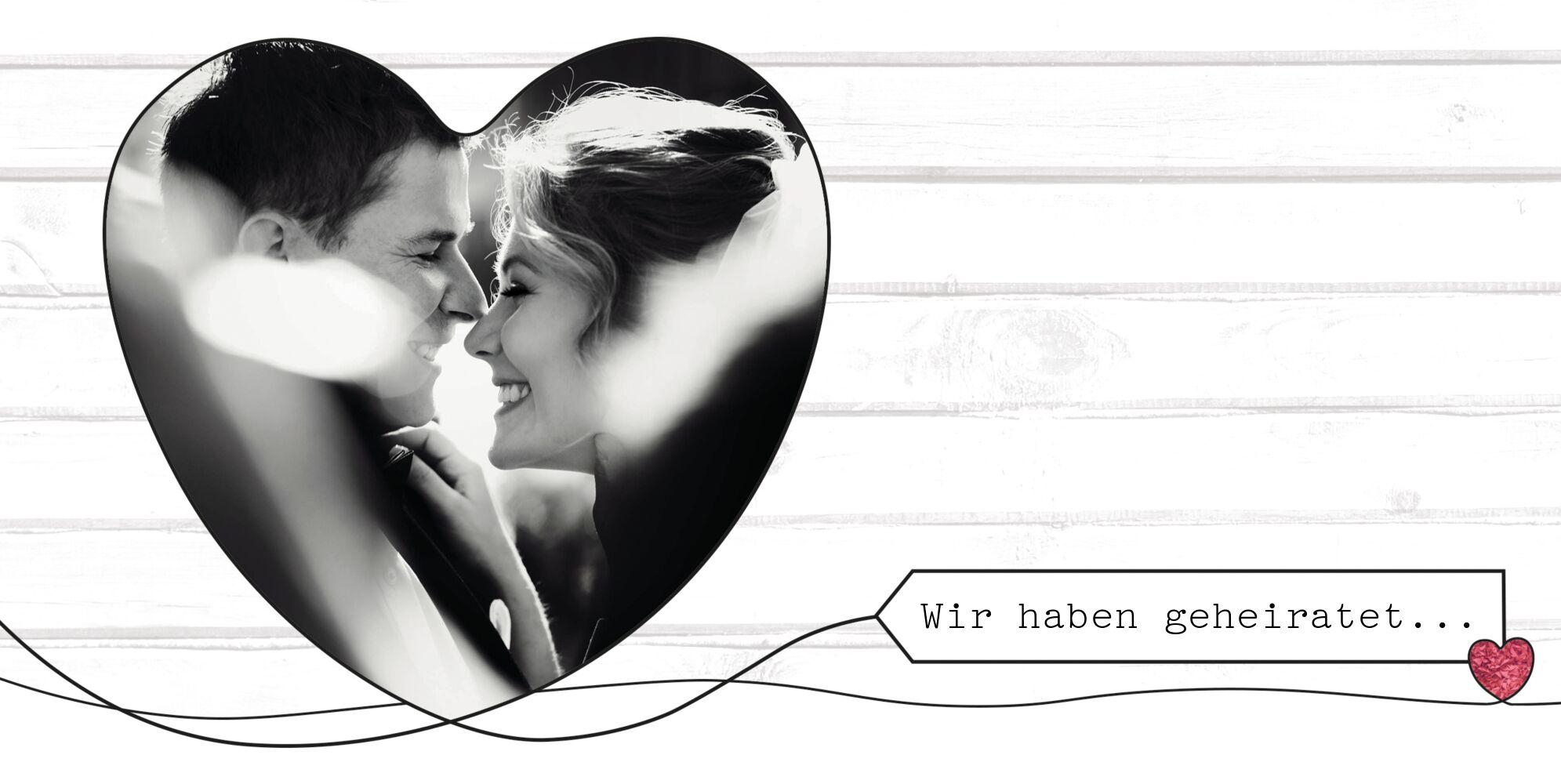 Ansicht 4 - Hochzeit Dankeskarte Mr&Mrs