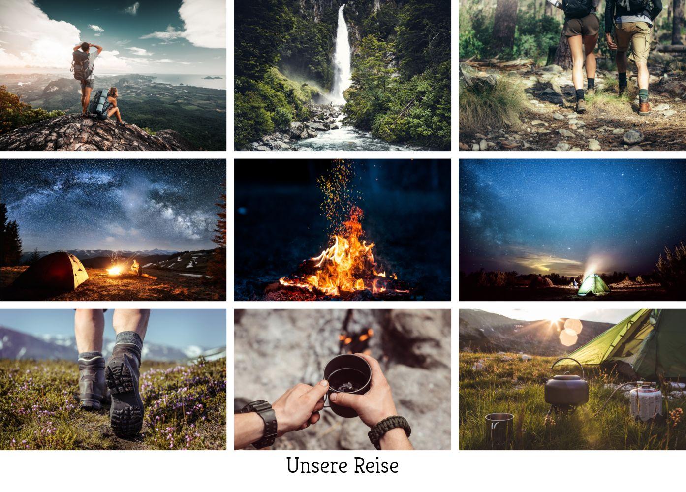 Ansicht 2 - Fotopostkarte Mosaic