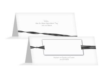 Hochzeit Tischkarte loop label