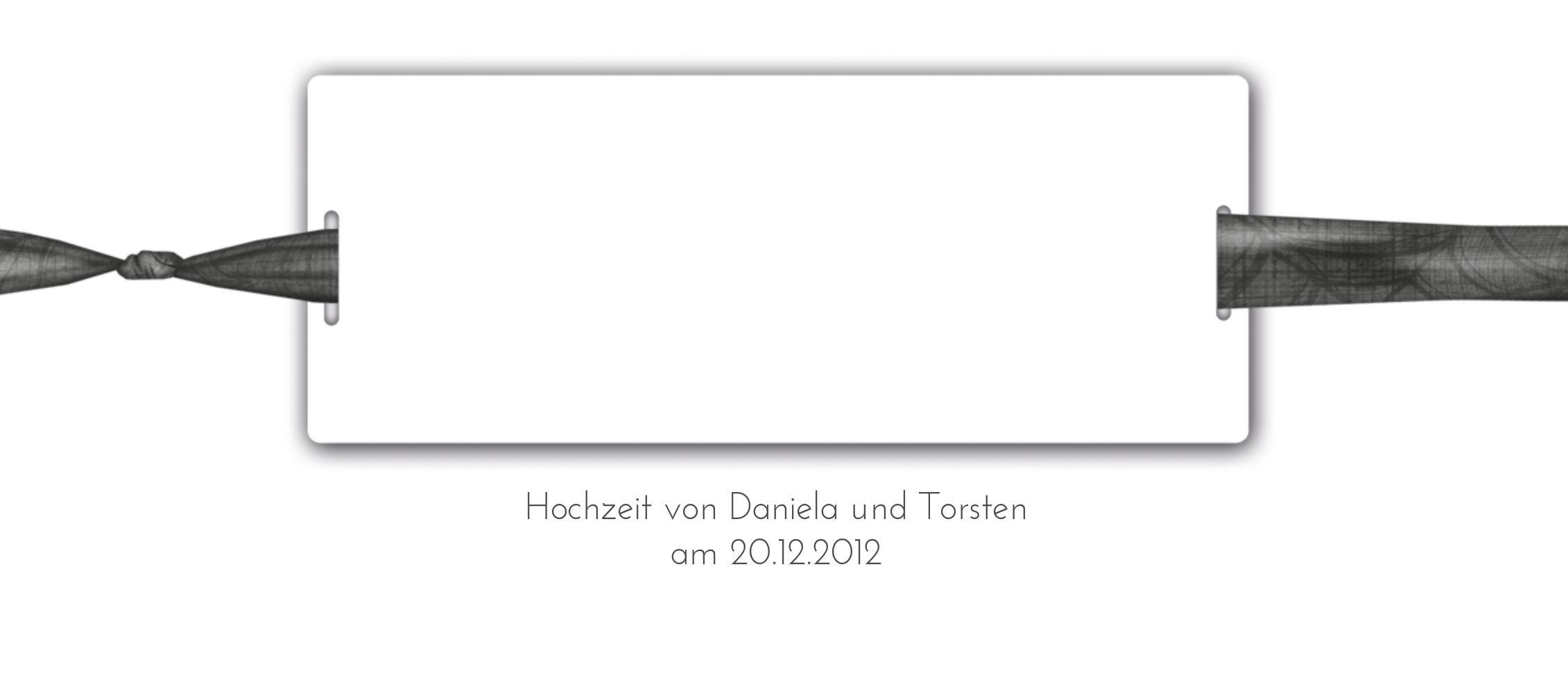 Ansicht 3 - Hochzeit Tischkarte loop label