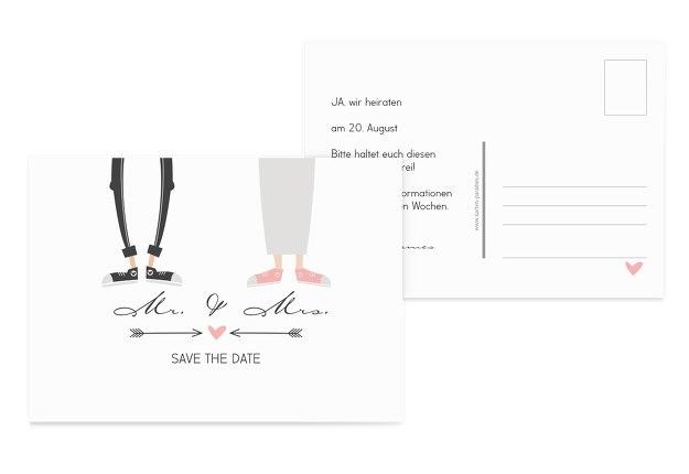Save-the-Date Pärchen