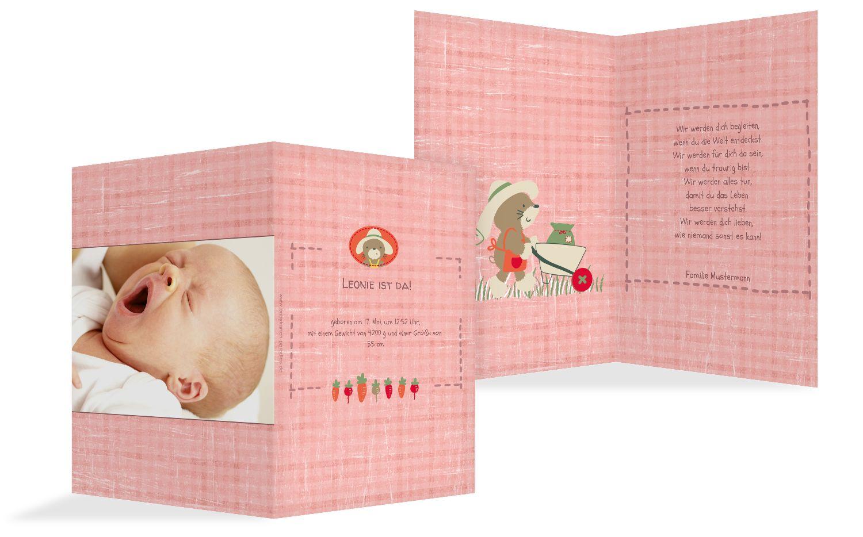 Babykarte Paper