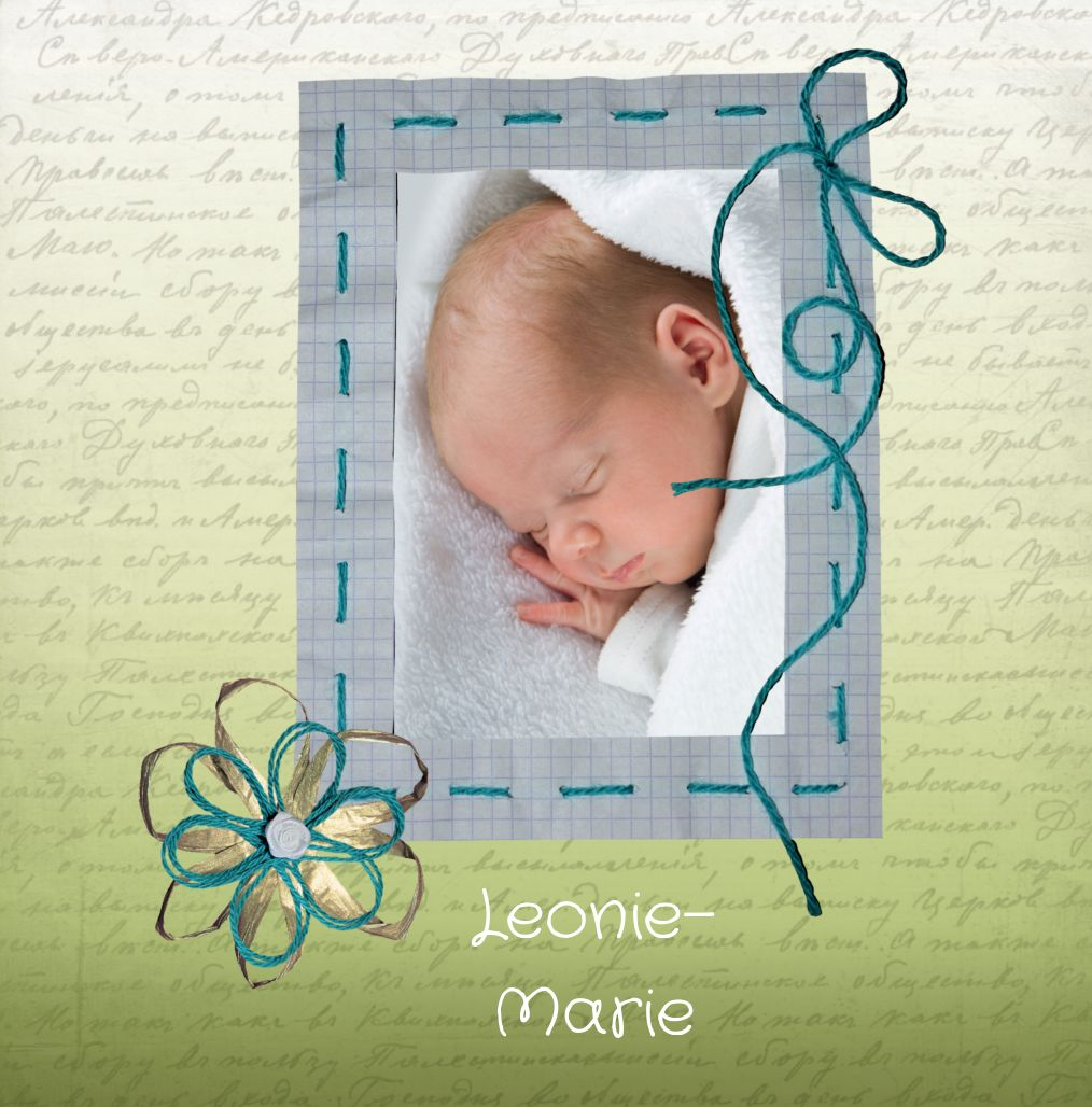 Ansicht 4 - Babykarte Schnipp-Schnapp