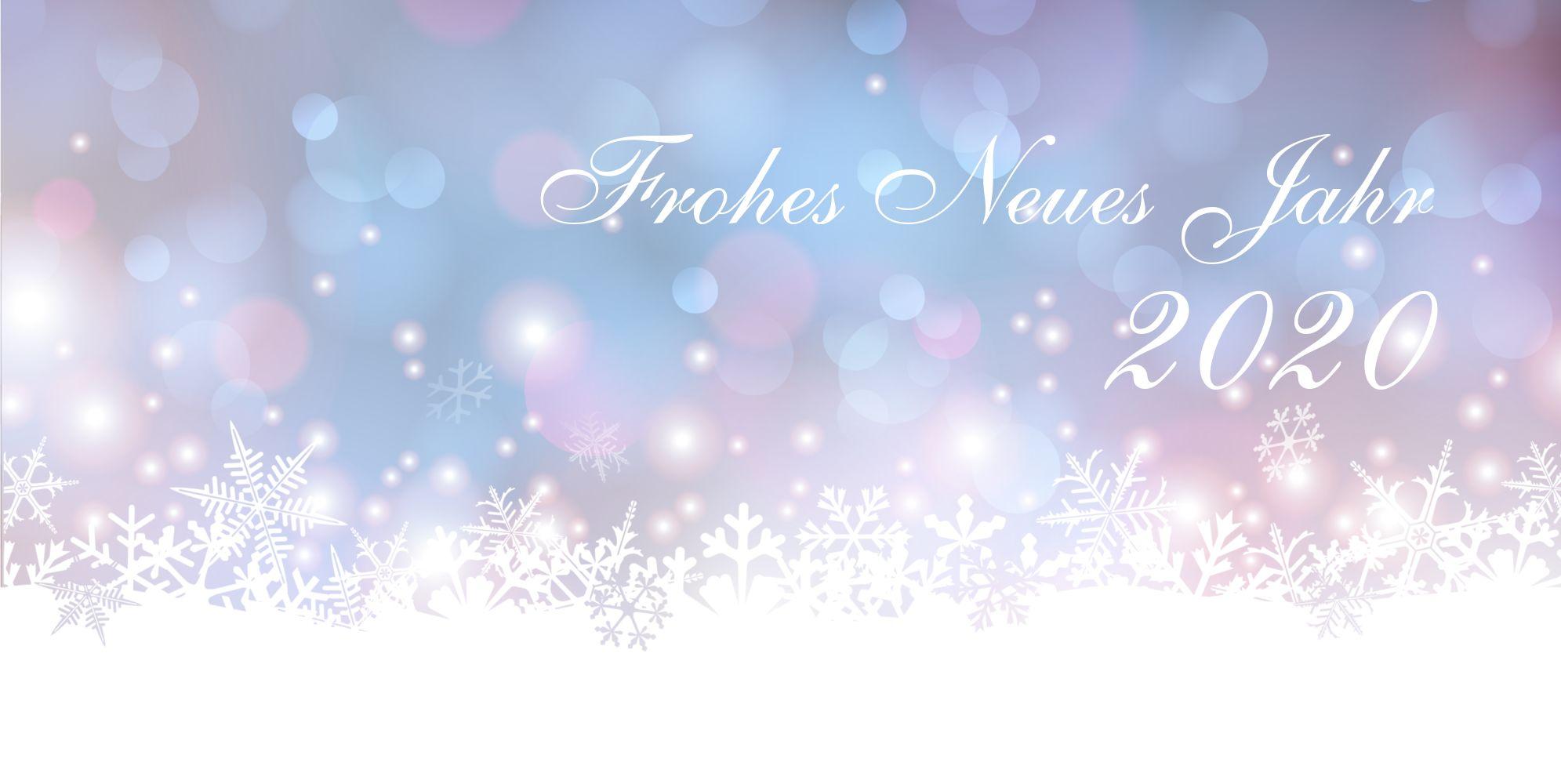 Ansicht 3 - Neujahrskarte Flockenspiel