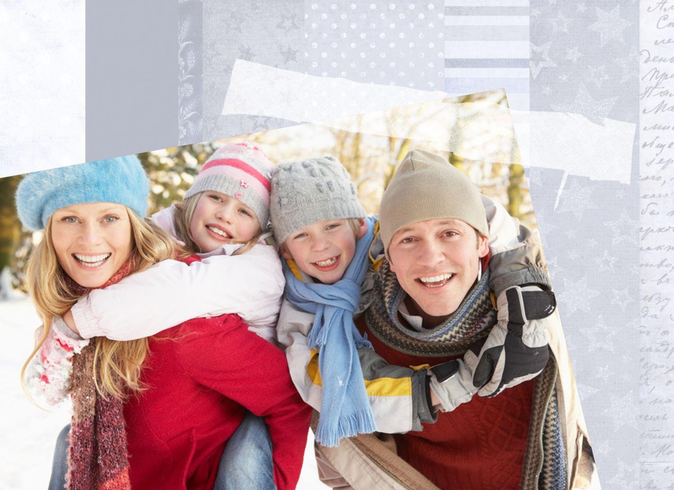 Ansicht 4 - Foto Grußkarte Geschenkpapier