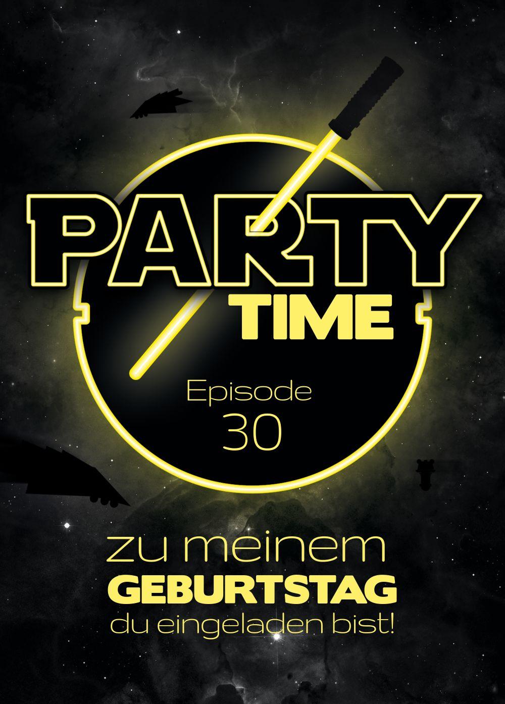 Ansicht 2 - Geburtstagseinladung Partytime 30