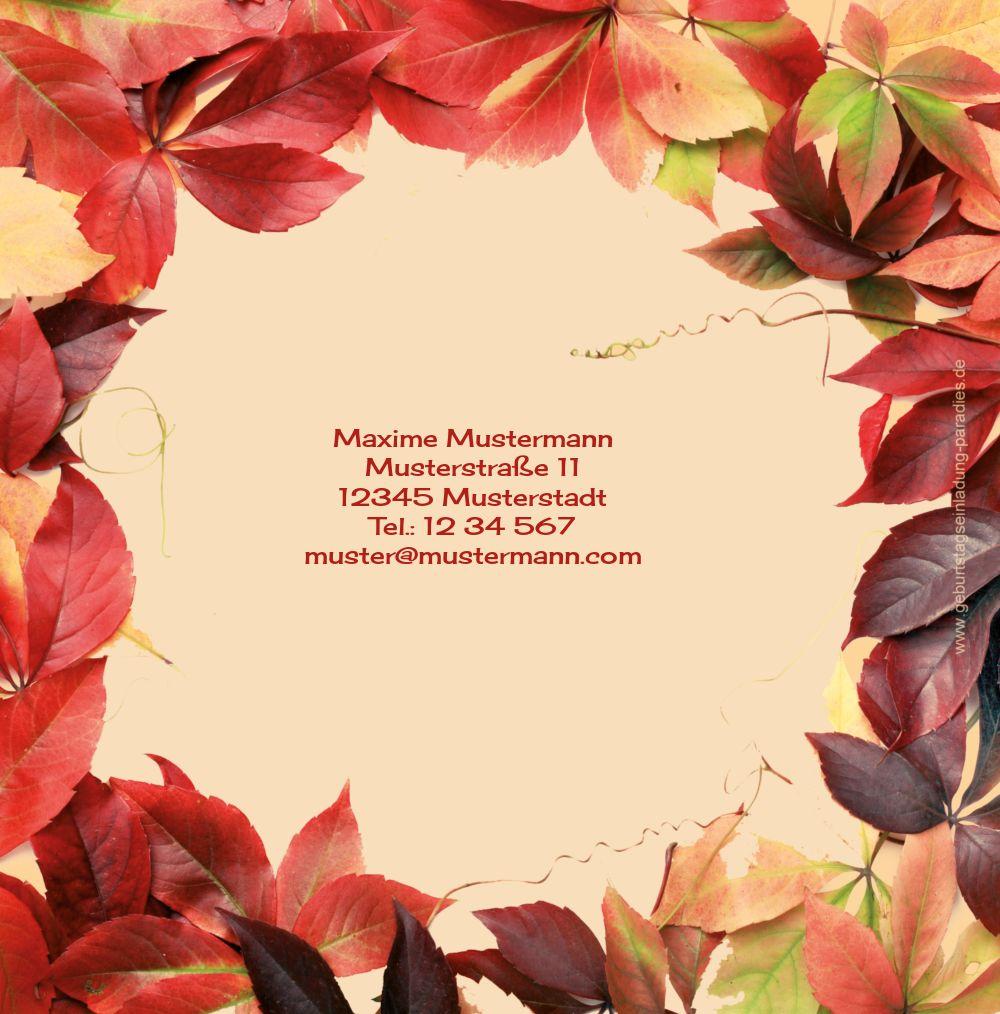Ansicht 2 - Einladungskarte Blumentraum 50 Foto