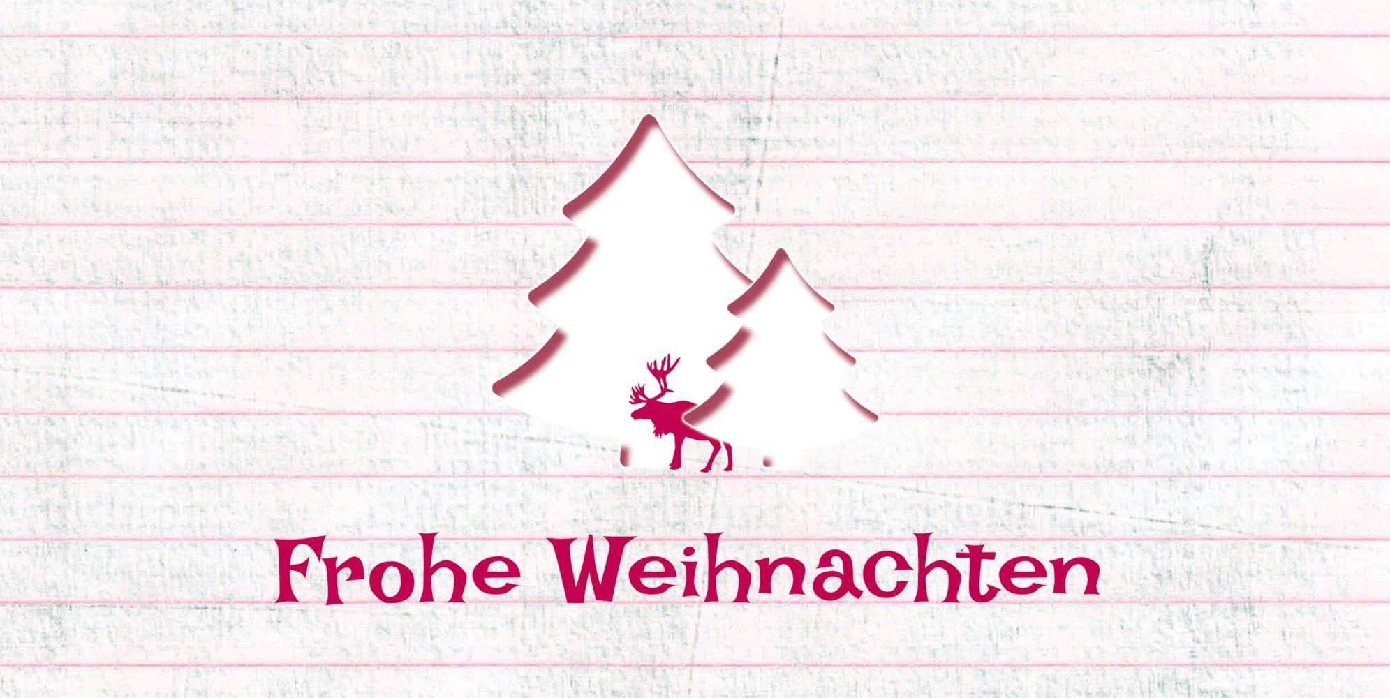 Ansicht 3 - Grußkarte Elchenwald