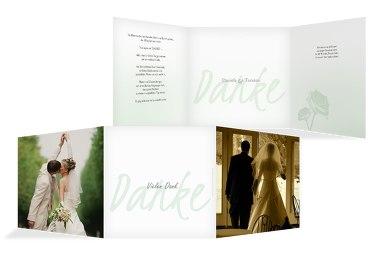 Hochzeit Danke 3 Vermählung