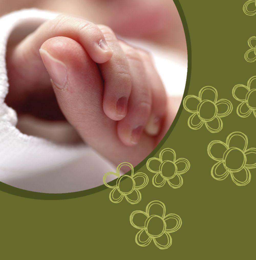 Ansicht 4 - Babykarte Blüten