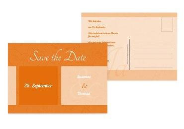 Save-the-Date Hochzeitsglück