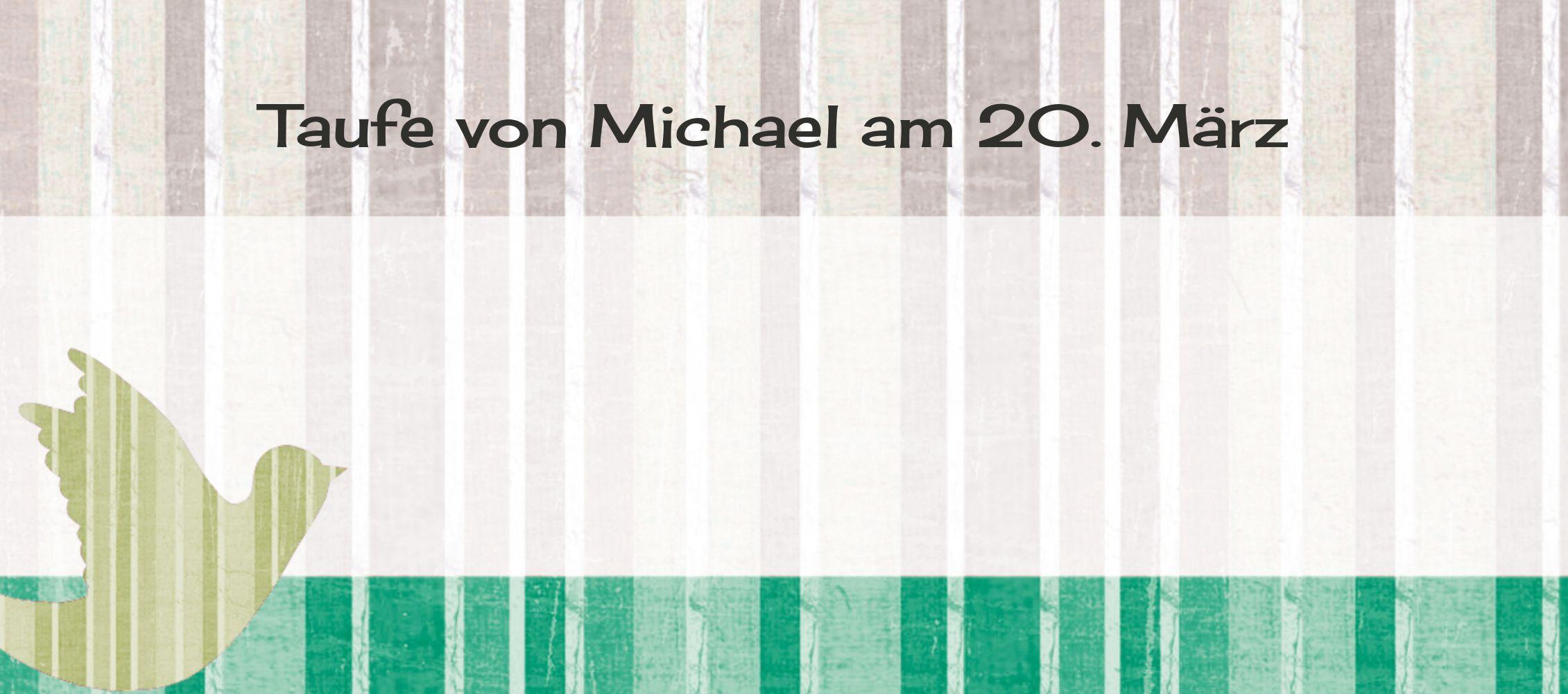 Ansicht 3 - Tischkarte Streifenharmonie