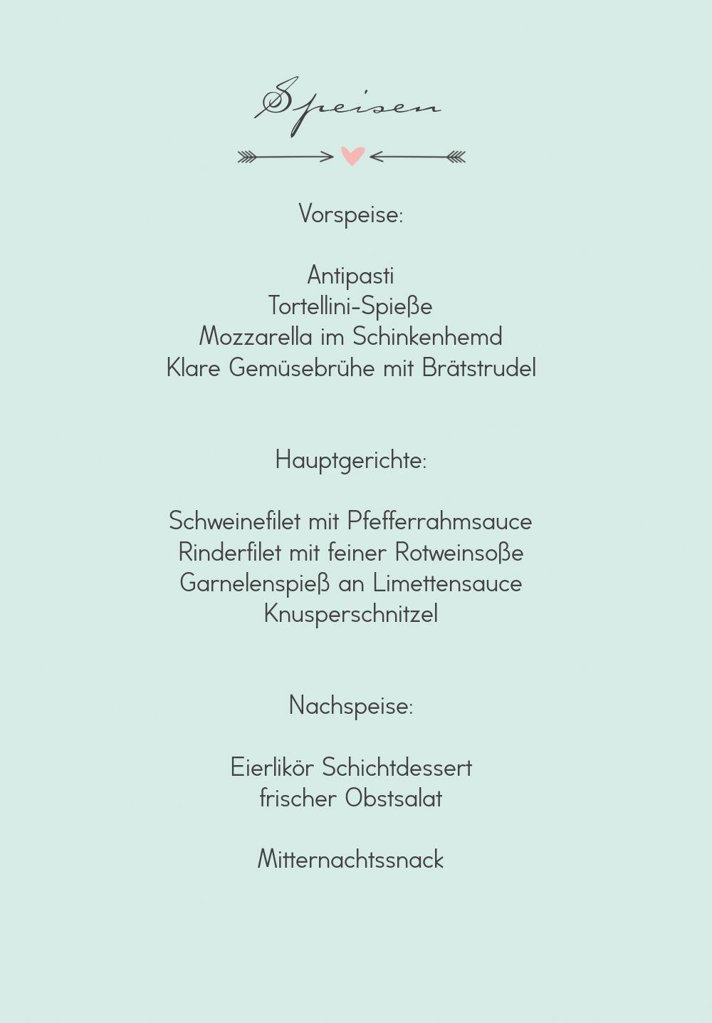 Ansicht 5 - Hochzeit Menükarte Pärchen - Männer