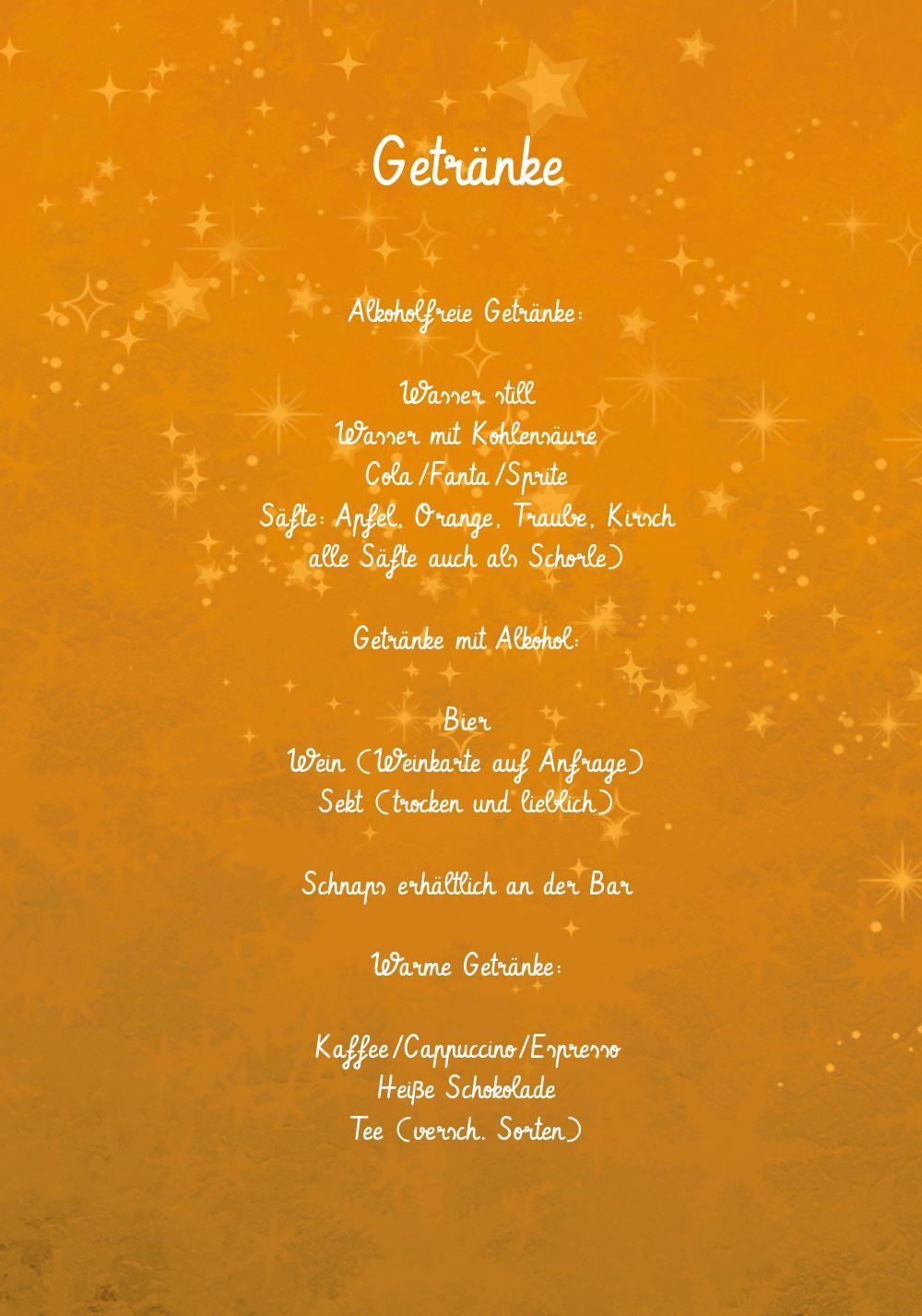 Ansicht 4 - Menükarte Advent