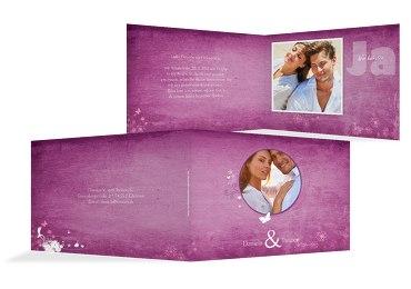 Hochzeit Einladung 3 Liebeserfüllung