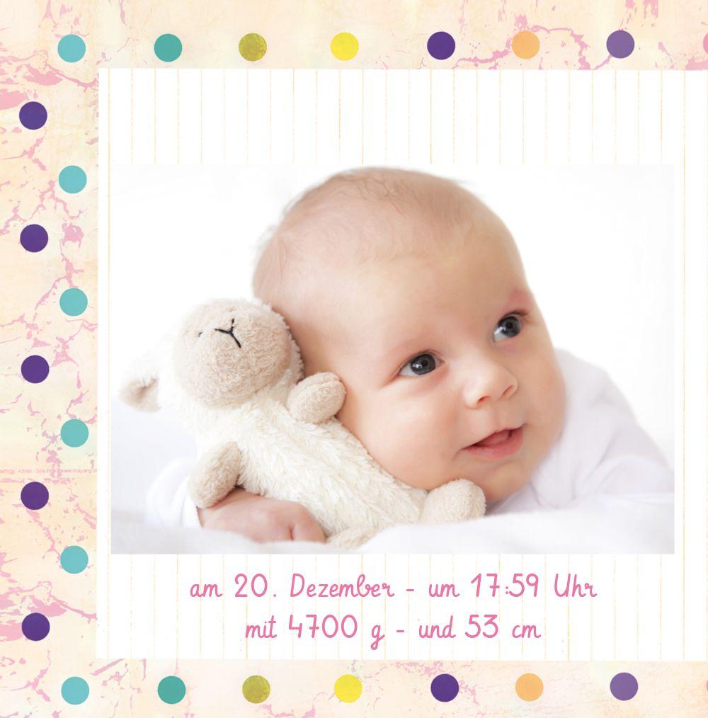 Ansicht 4 - Babykarte Smarties