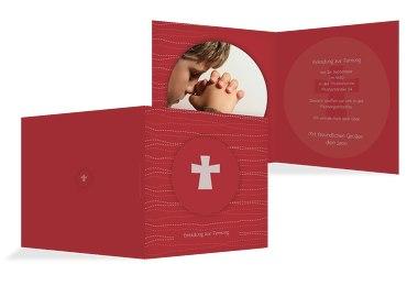 Firmkarte Wellen Kreuz