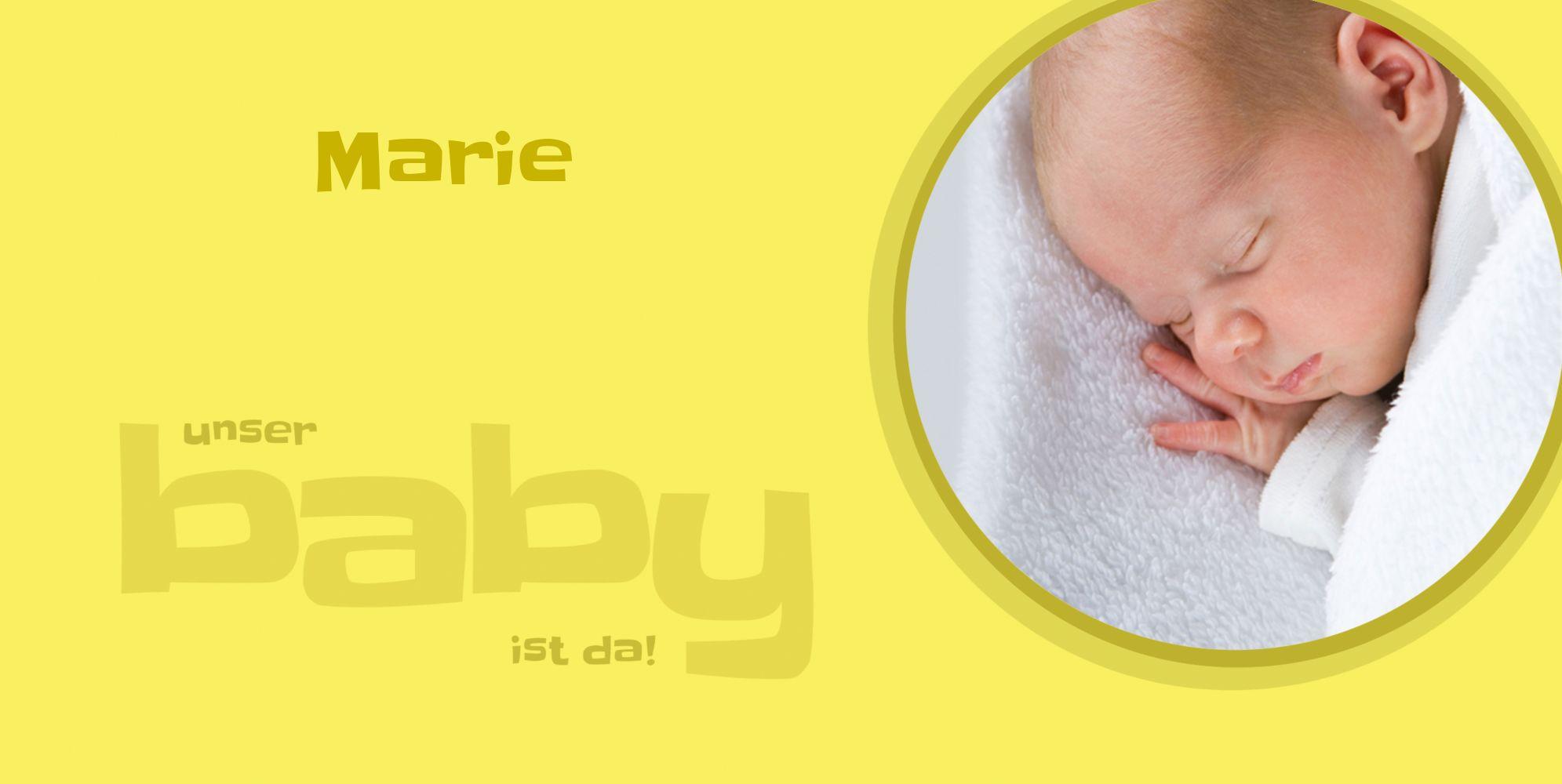 Ansicht 5 - Baby Dankeskarte Baby