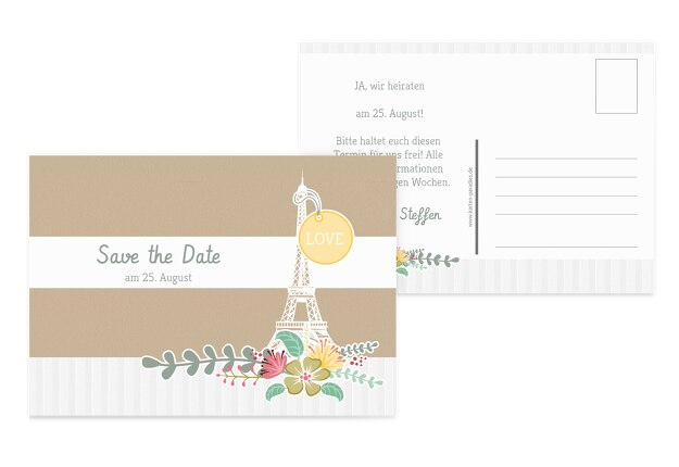 Save-the-Date Paris