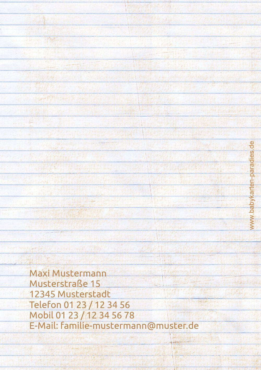 Ansicht 2 - Konfirmation Dankeskarte buttons