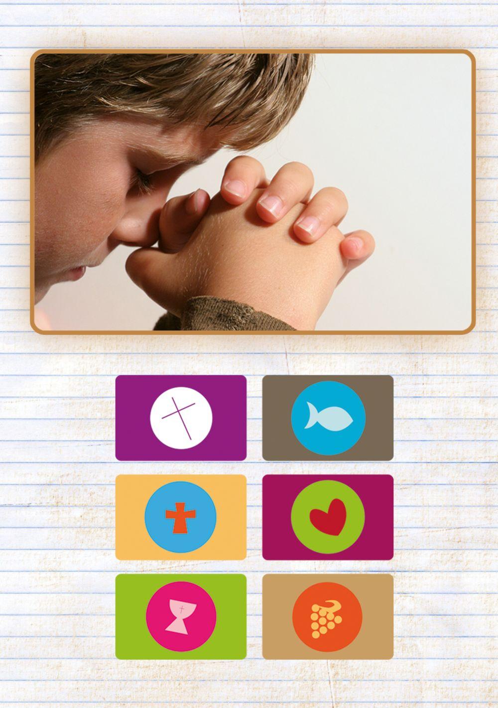 Ansicht 4 - Konfirmation Dankeskarte buttons