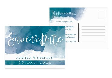 Save-the-Date Aquarell