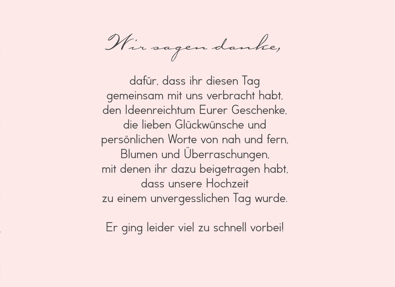 Ansicht 5 - Hochzeit Dankeskarte Pärchen - Frauen