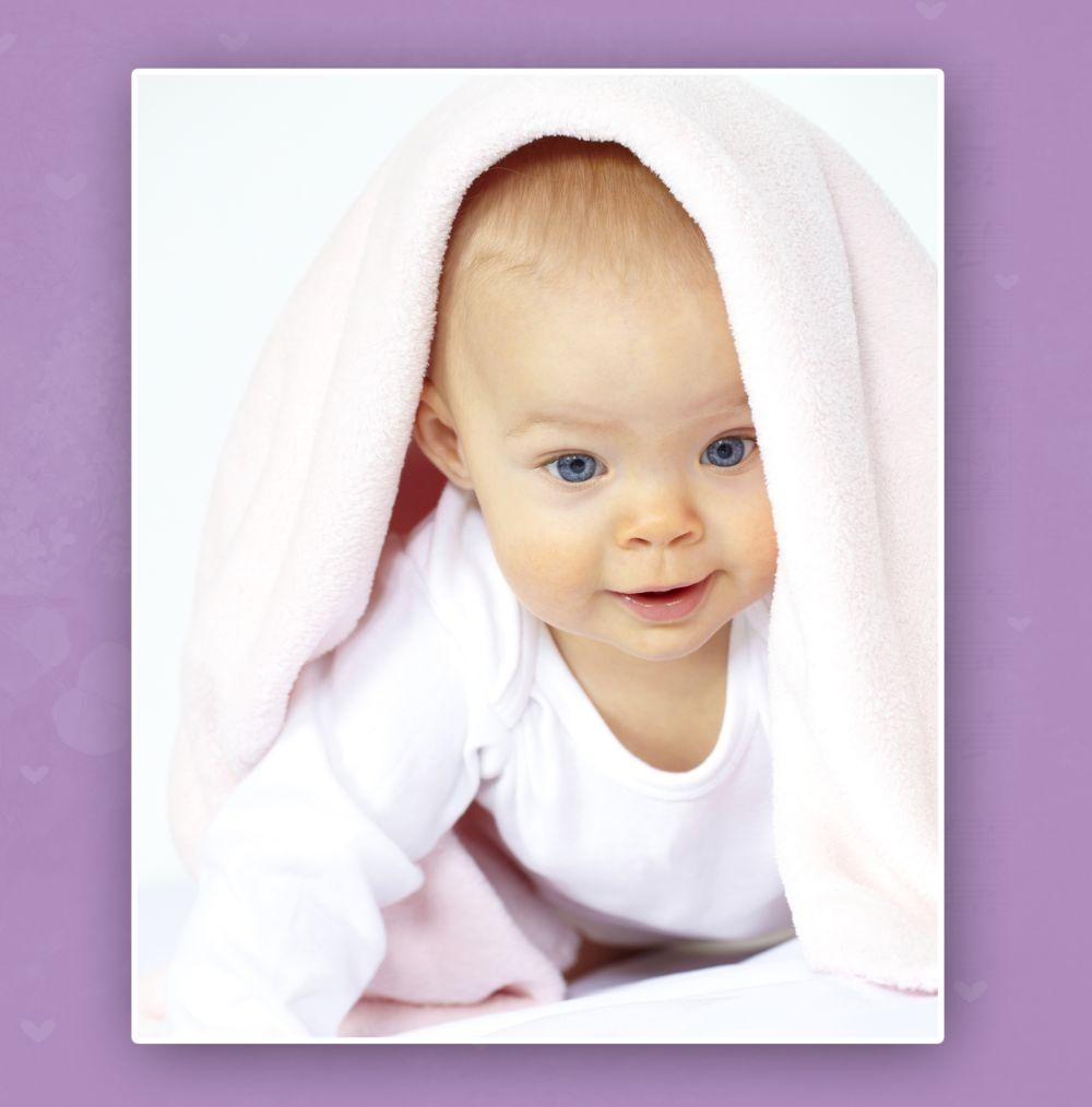 Ansicht 4 - Babykarte It's a girl