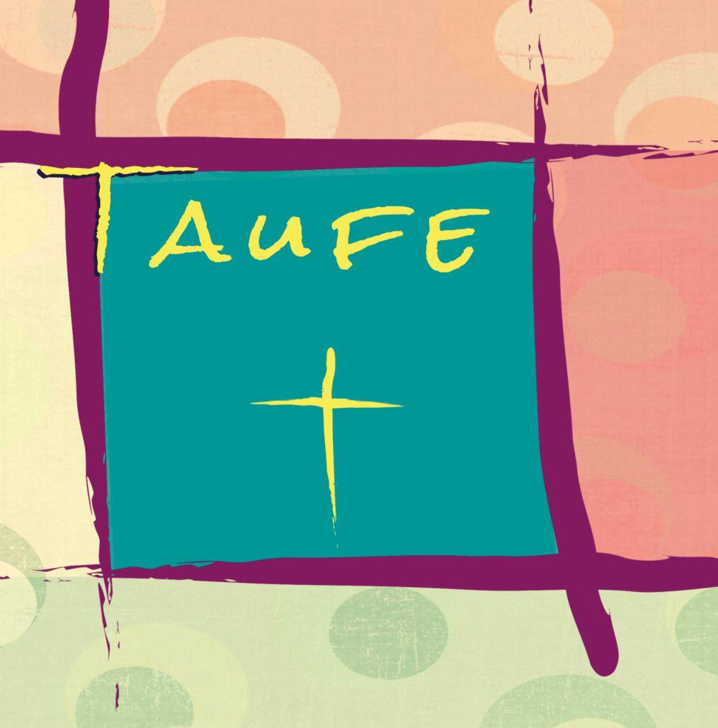 Ansicht 4 - Taufkarte Kreuzrahmen