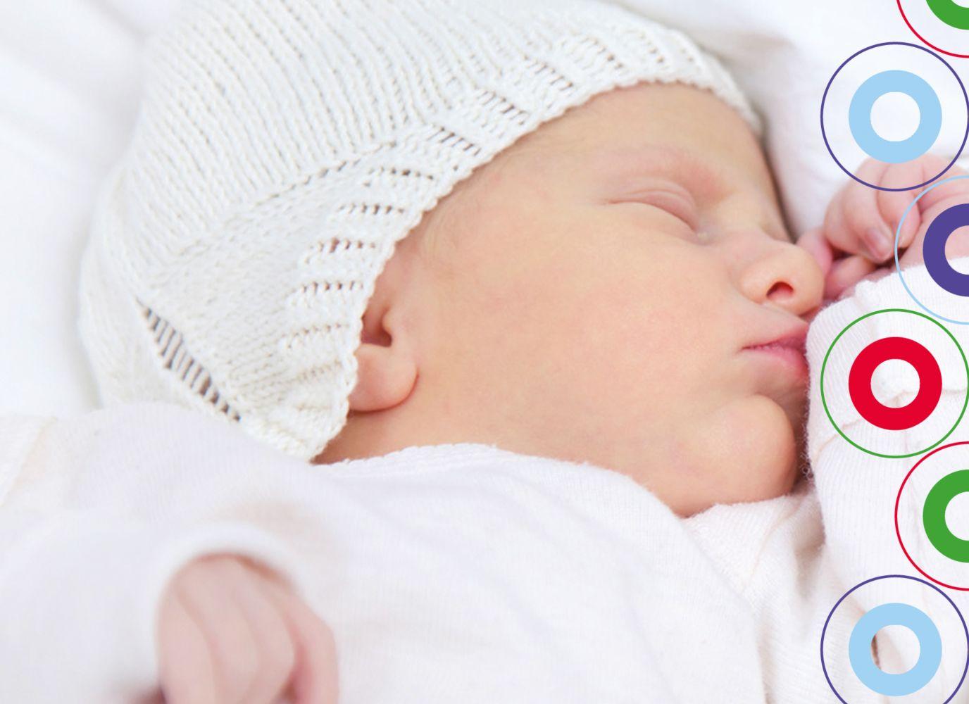 Ansicht 5 - Babykarte Zwillinge bunt