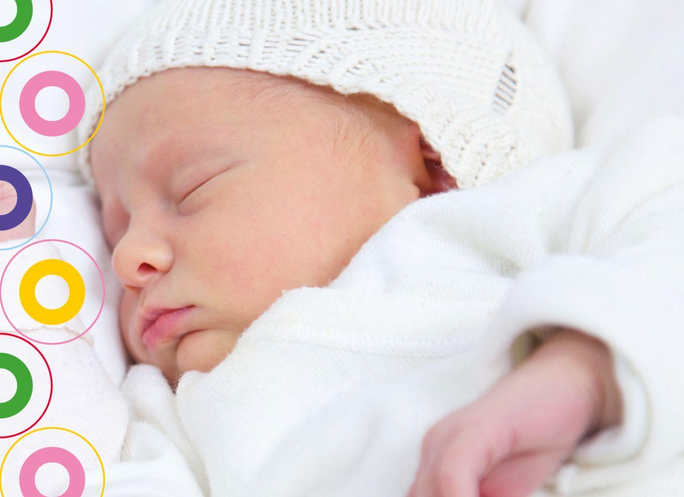 Ansicht 7 - Babykarte Zwillinge bunt