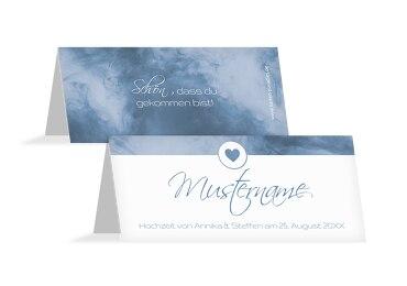 Hochzeit Tischkarte Sanft
