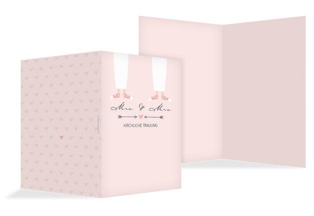 Kirchenheft Umschlag Pärchen - Frauen