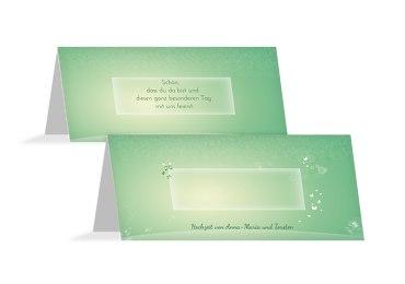 Hochzeit Tischkarte Dream