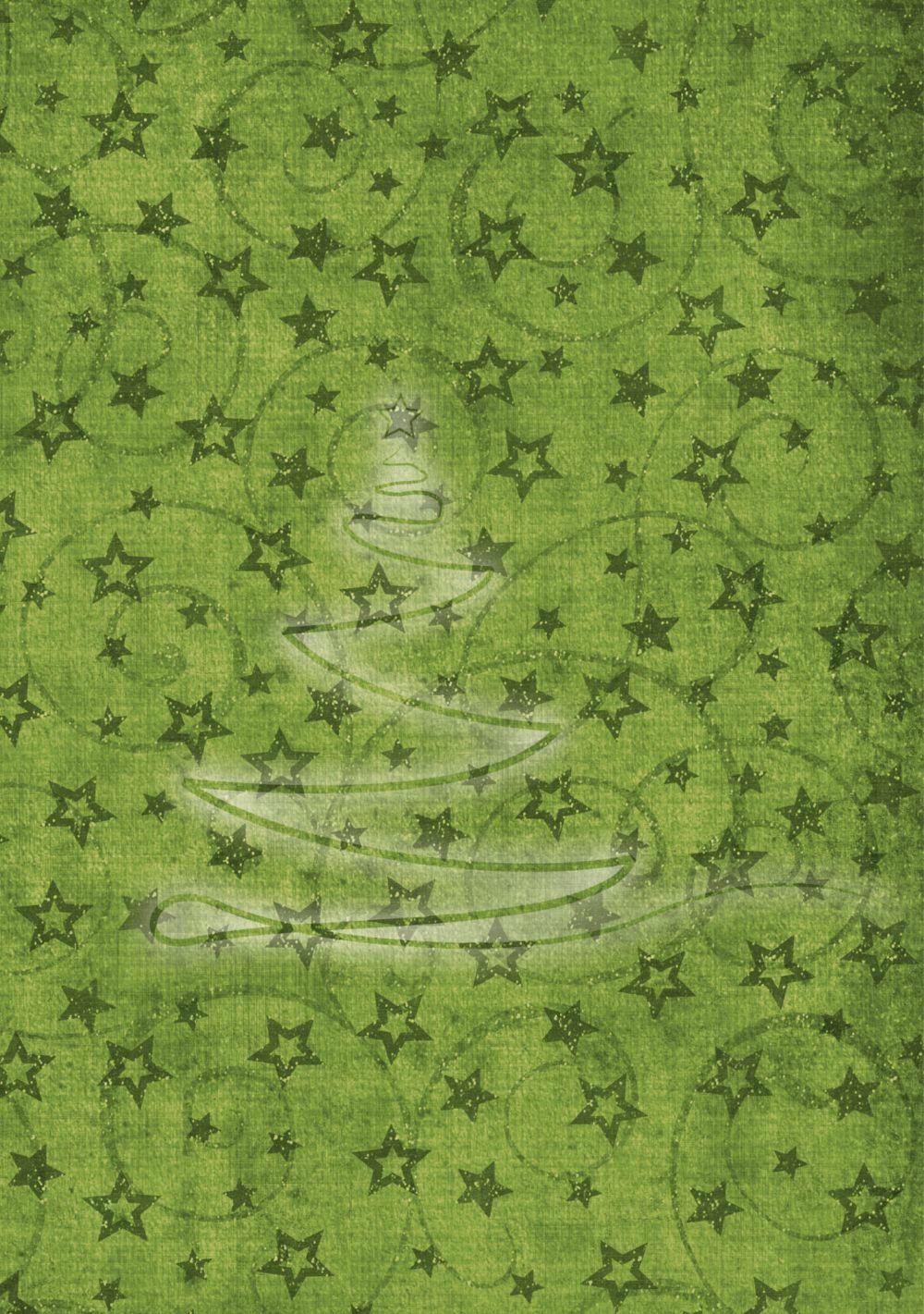 Ansicht 4 - Grußkarte Linienbaum