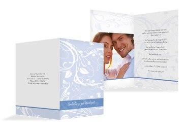 Hochzeit Einladung Blättertraum