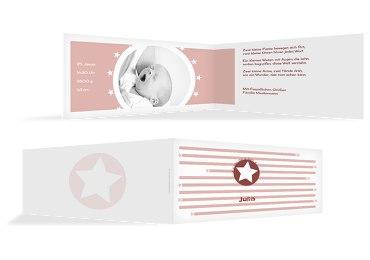 Babykarte a new star