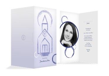 Firmung Dankeskarte Kirche
