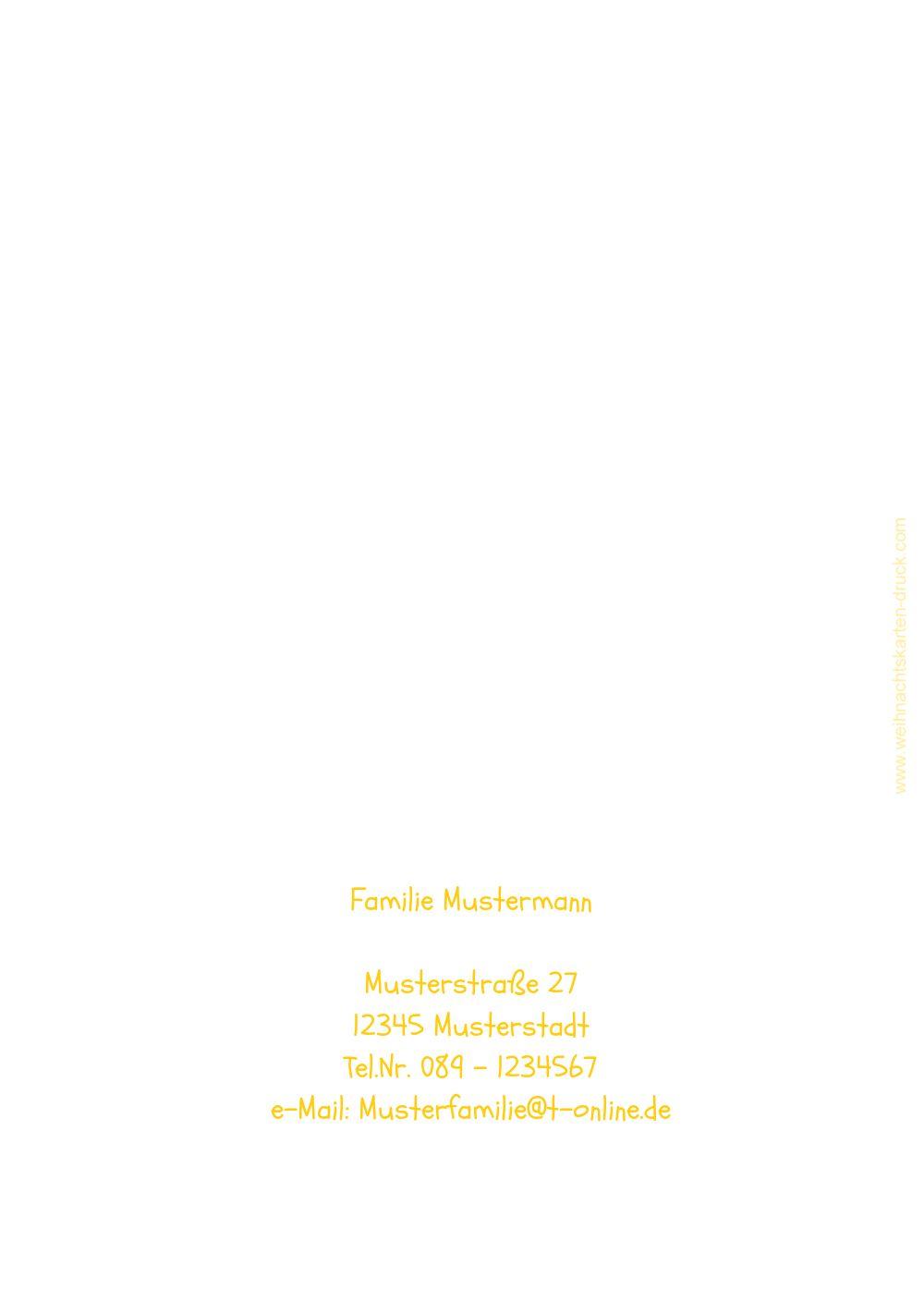 Ansicht 2 - Einladung Bäumchenbild