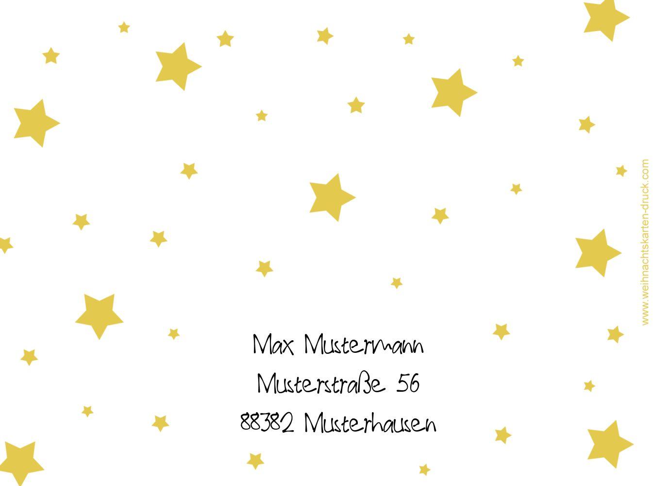 Ansicht 2 - Foto Einladung Sterne