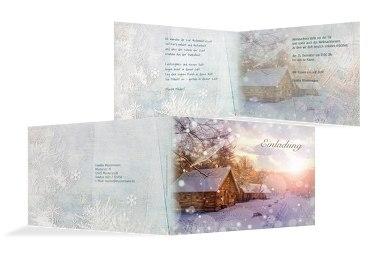 Einladung Schneehütte