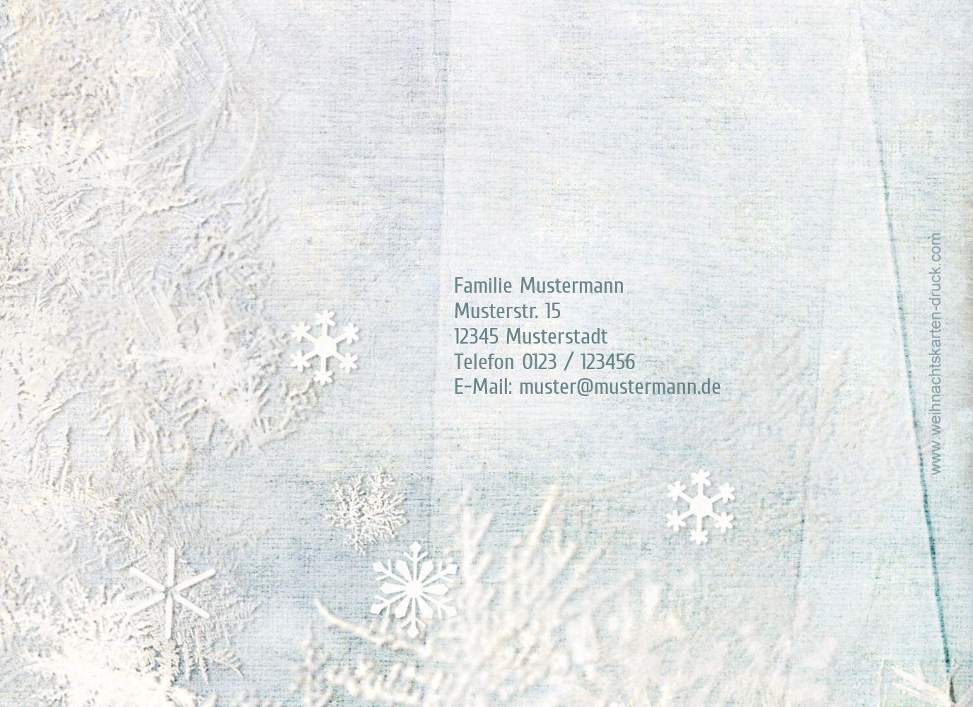 Ansicht 2 - Einladung Schneehütte