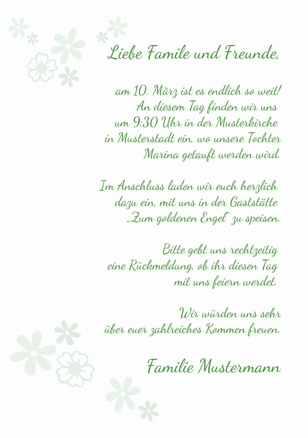 Ansicht 5 - Einladung Florales Kreuz