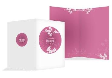 Kirchenheft Umschlag Cherry Blossom