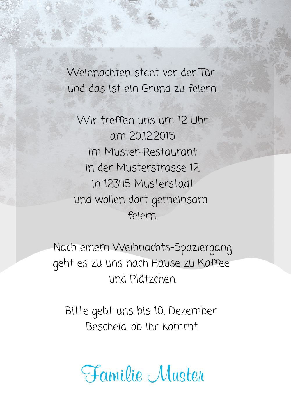 Ansicht 5 - Foto Einladung Knopfmännchen