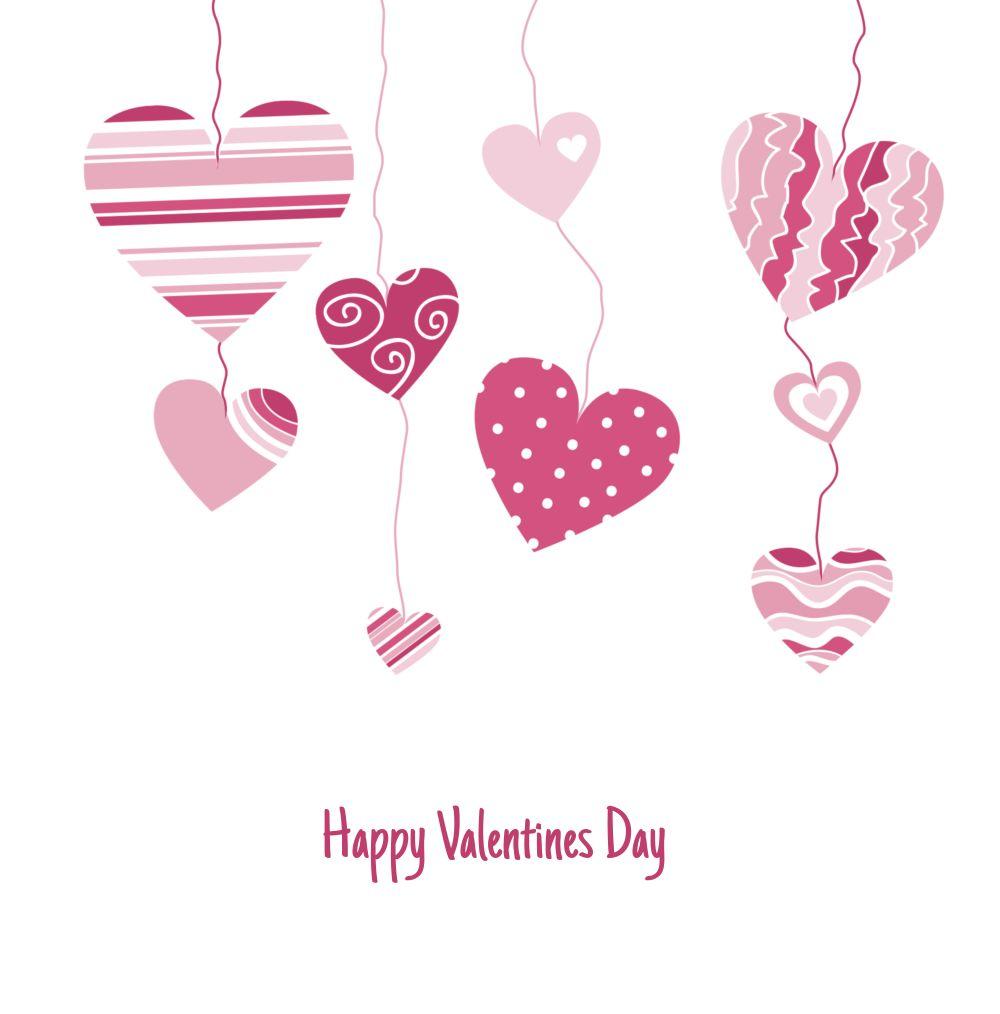 Ansicht 3 - Valentinskarte Herzens Mobile